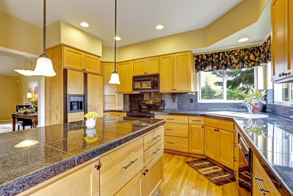 Granite Tiles Countertop kitchen counter ideas