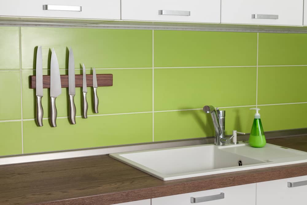 Magnetic Knife Rack kitchen storage ideas