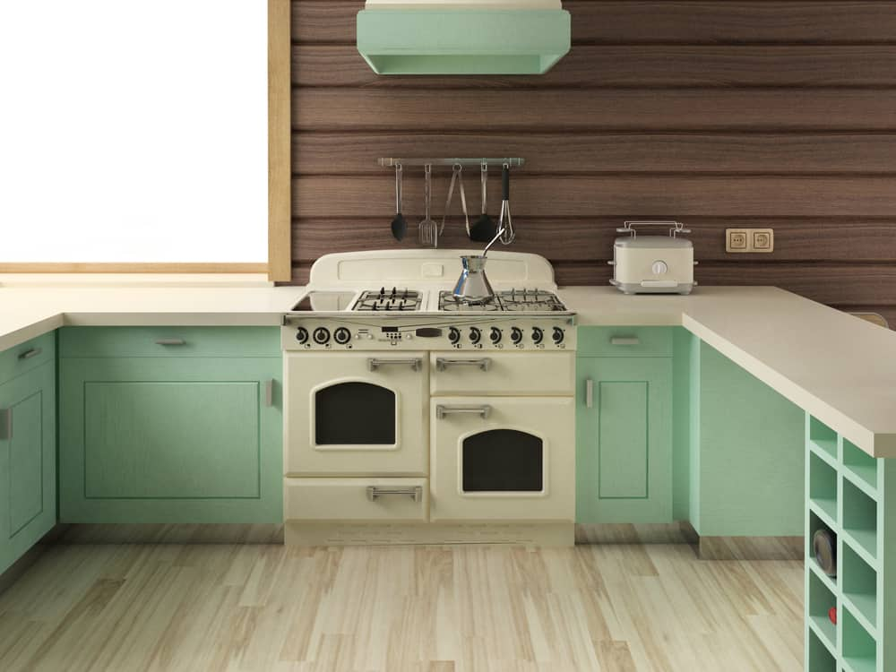 Mint Green retro kitchen ideas