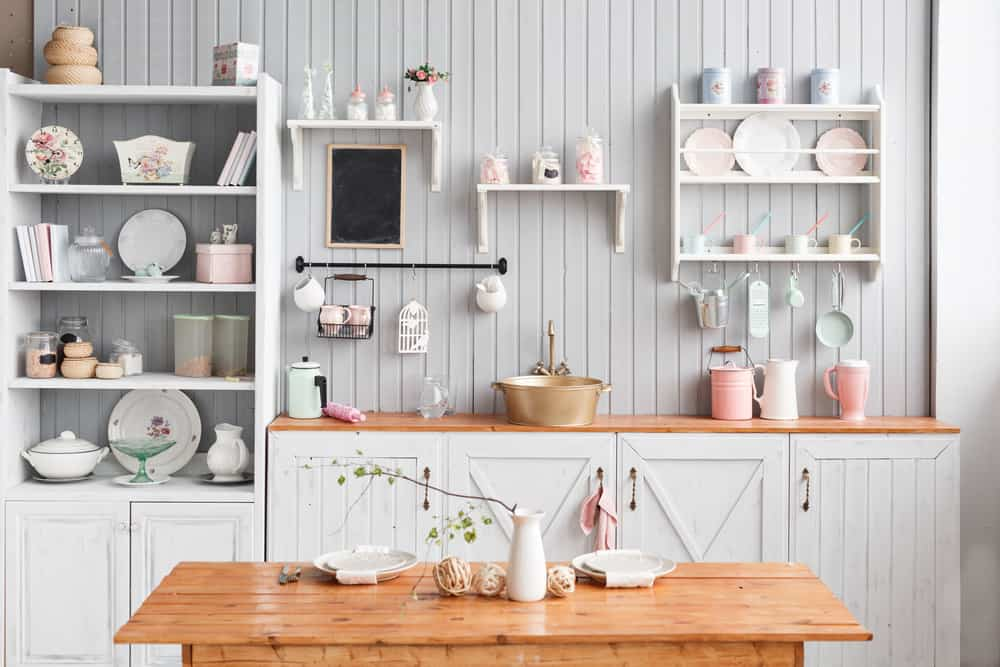 Open Shelves kitchen storage ideas