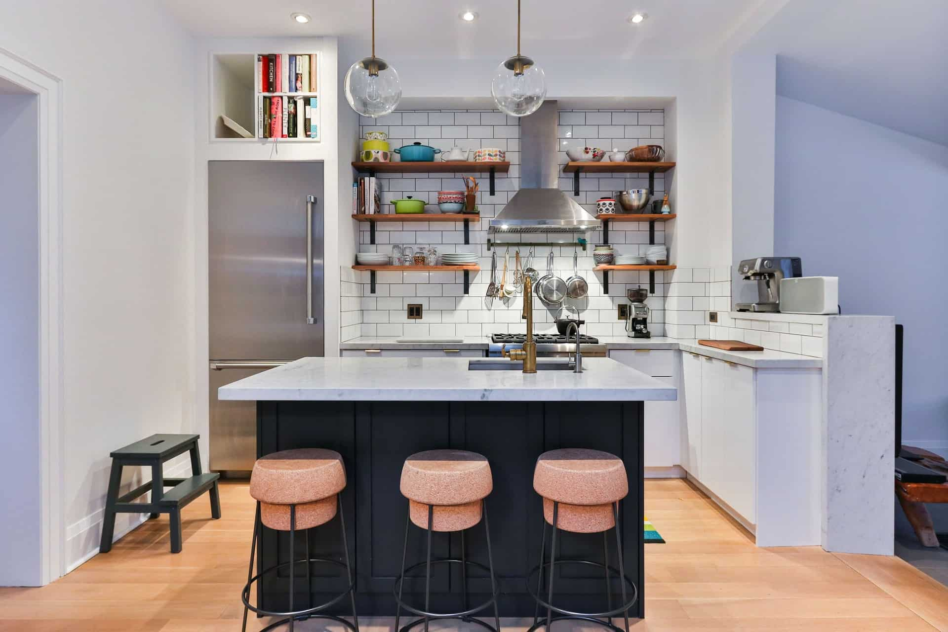 Open Shelving retro kitchen ideas