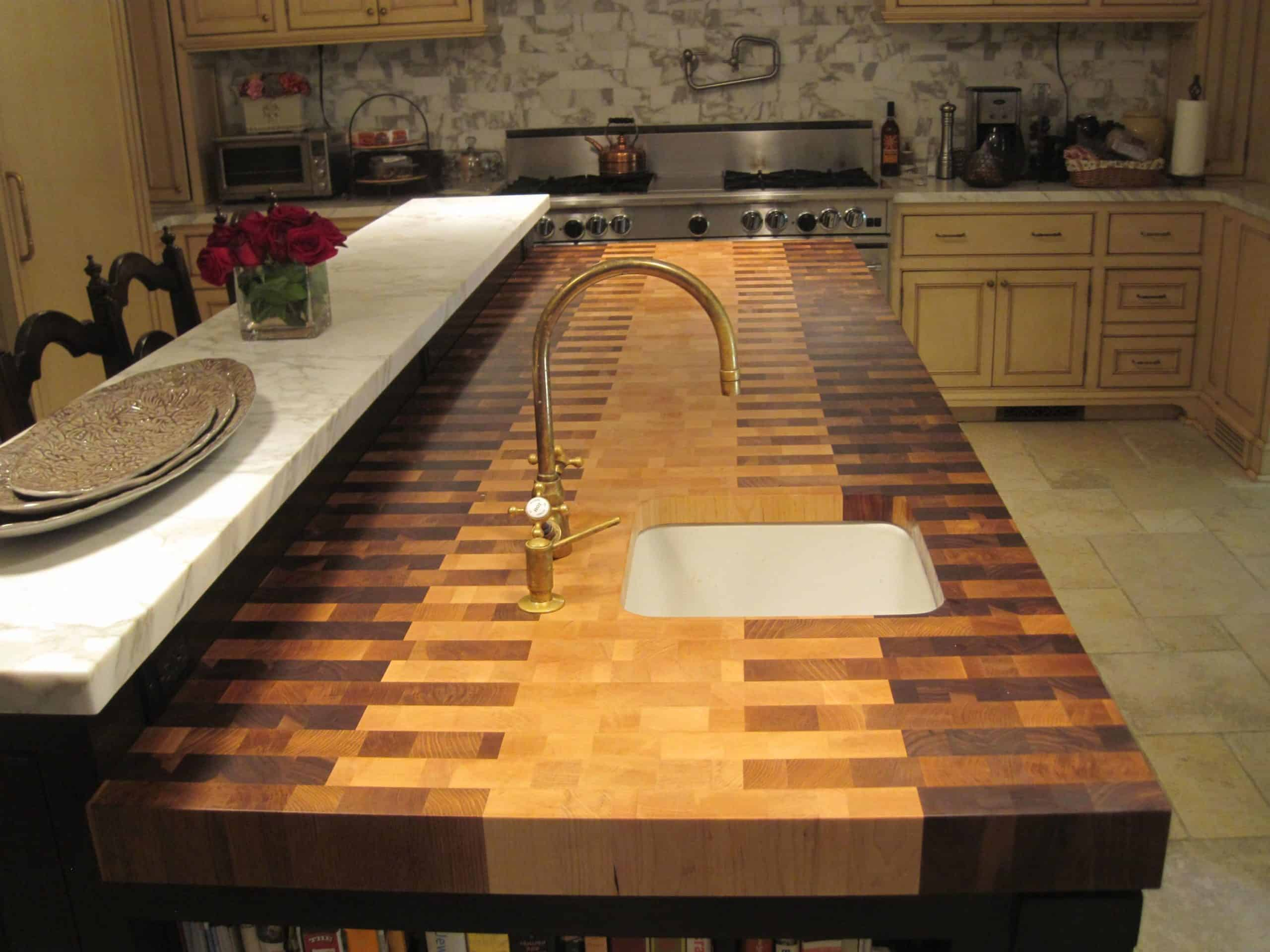 Patterned Kitchen Countertop kitchen counter ideas