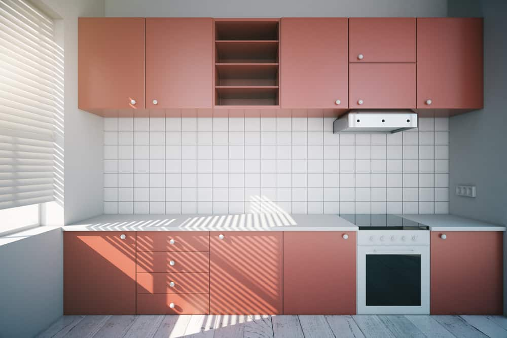 Pink-Red Kitchen red kitchen ideas