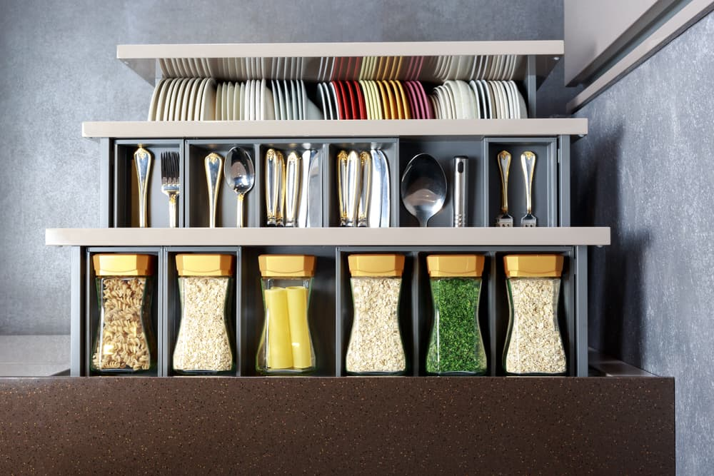 Pull Out Drawer kitchen storage ideas