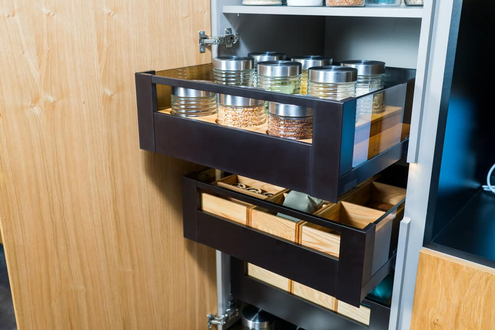 Pull Out Shelves Within Cabinets kitchen storage ideas