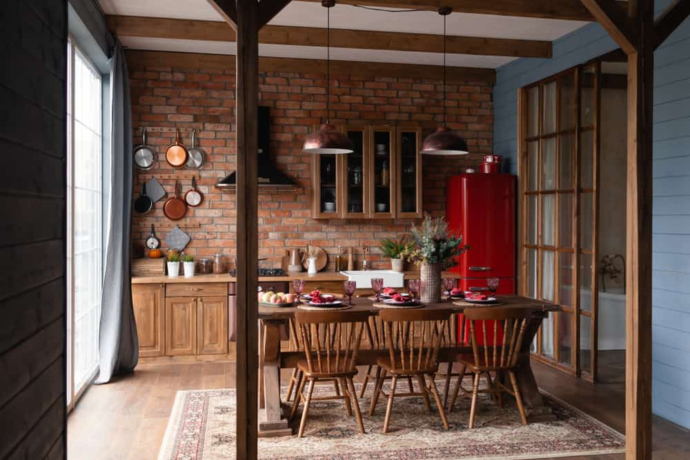 Red Appliances red kitchen ideas
