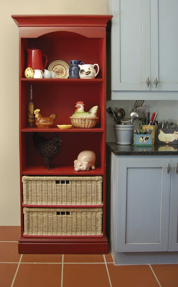 Red Kitchen Dresser red kitchen ideas