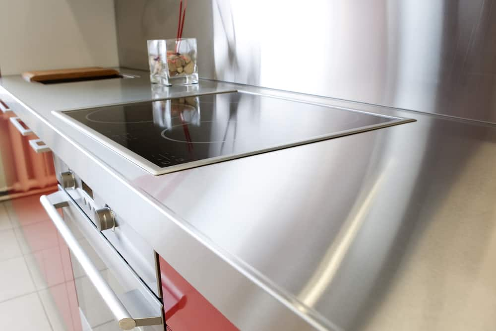 Stainless Steel Countertop kitchen counter ideas
