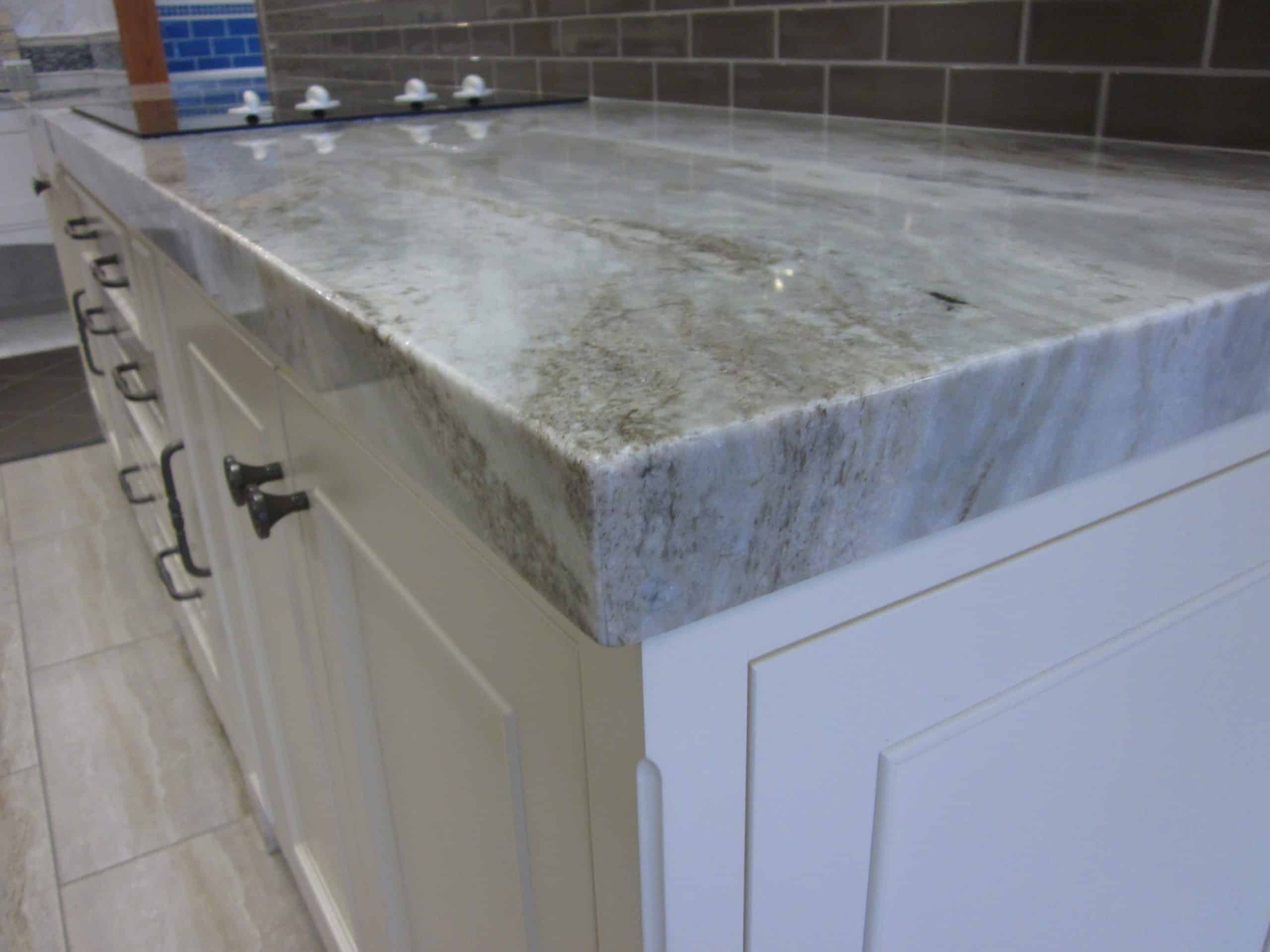 Thick Slab Kitchen Countertop kitchen counter ideas
