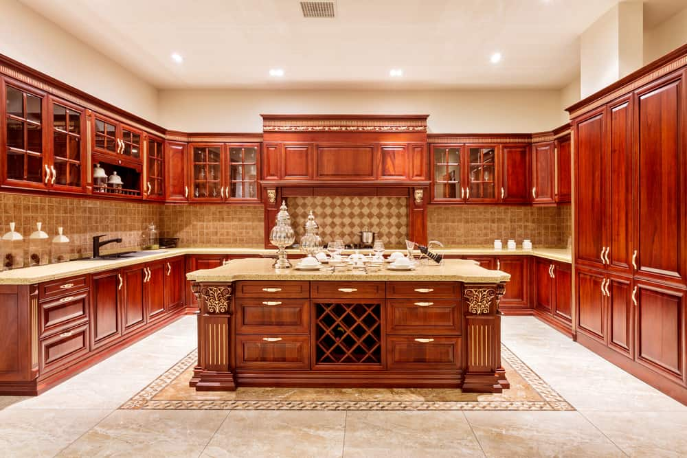 Traditional Opulence kitchen cabinet refacing ideas