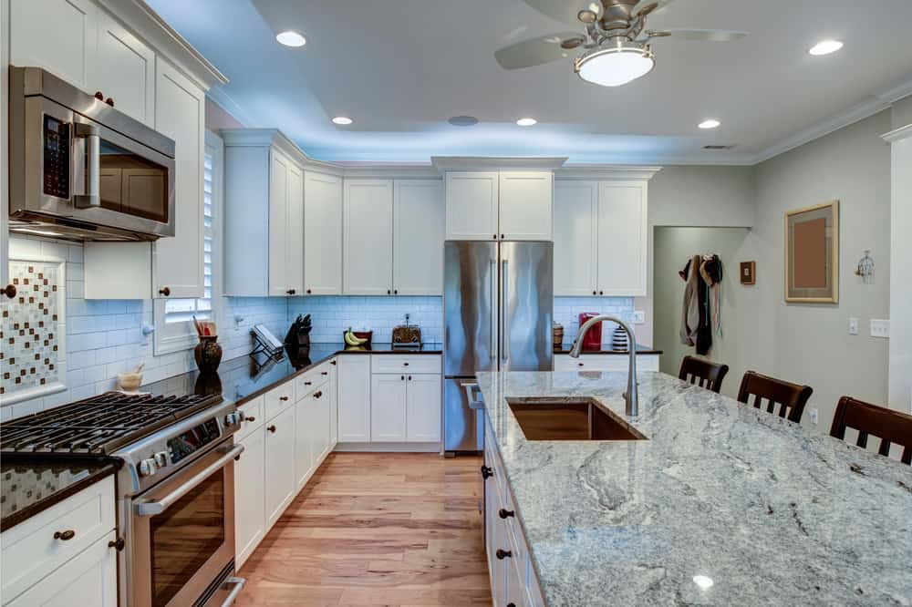 Twice the Luxury kitchen countertop design ideas