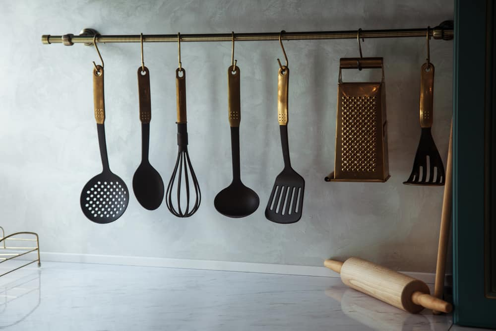 Utensil Rack kitchen storage ideas