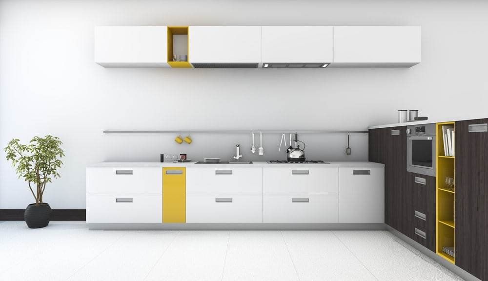 Yellow Colors to Define Location or Use of a Space yellow kitchen ideas
