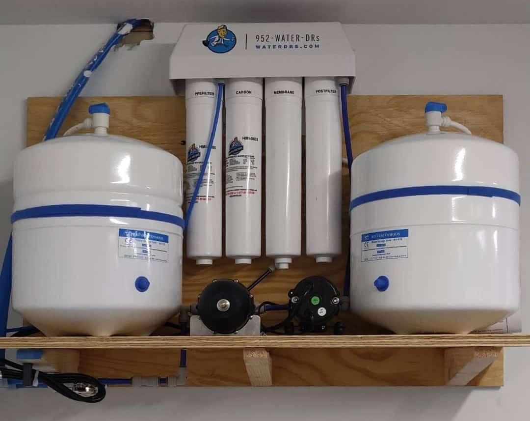 cost to install water softener