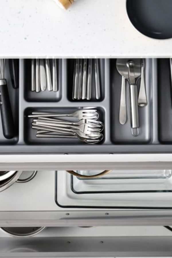 45 Kitchen Storage Ideas – Kitchen Cabinet Storage Solutions